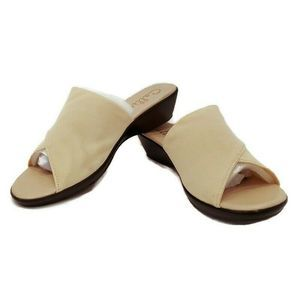 Callisto of California 8 Sandals Beige Shindy